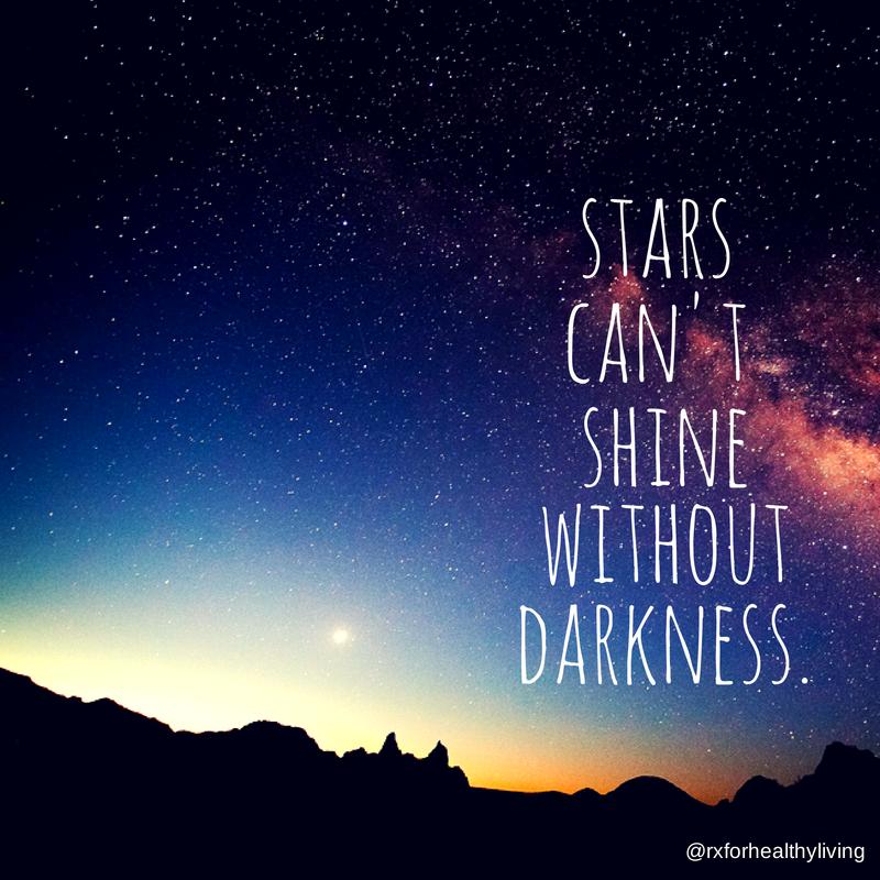 Las estrellas no pueden brillar sin oscuridad…